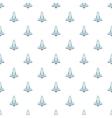 Plane pattern cartoon style vector image vector image