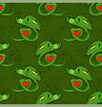 snake seamless background animal pattern attack vector image