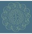 Vintage decorative elements mandala pattern vector image vector image