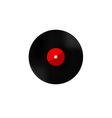 Vinyl red vector image vector image