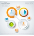 Modern business template style vector image