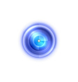 abstract center point blue vector image