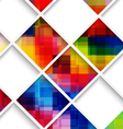 Abstract multicolored with net vector image vector image