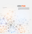 communications and internet abstract vector image vector image