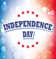 independence day usa banner vector image vector image
