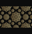 islamic seamless ornament persian motiff vector image vector image