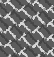 Monochrome pattern with rough t shapes vector image vector image