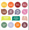 sale stickers and tags collection 4 vector image vector image