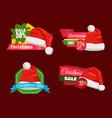 set of premium quality half price promo cards vector image vector image