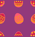 spring easter seamless pattern vector image vector image