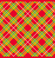 tartan pattern scottish plaid scottish cage vector image
