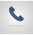 a phone icon vector image