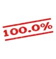 1000 Percent Watermark Stamp vector image