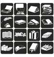 Books and literature vector image