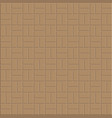 clay brick floor pattern vector image vector image