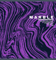 marble texture background deep purple and fluid vector image vector image