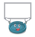 up board ashtray character cartoon style vector image vector image