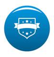 badge vintage icon blue vector image vector image