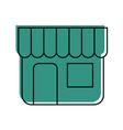 building store market exterior shopping concept vector image vector image