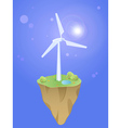 earth wind vector image vector image