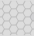 hexagon texture block vector image vector image