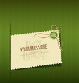 Merry Christmas modern Greeting cards vector image
