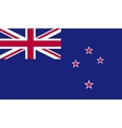 New Zealand flag image vector image vector image