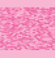 pink random background from bricks mosaic tiles vector image vector image
