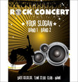 Rock concert wallpaper vector image vector image