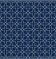 seamless ornamental pattern - simple design vector image