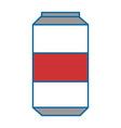 soda drink can icon vector image vector image