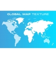 World map globe Earth texture vector image vector image