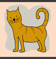 A cat vector image vector image