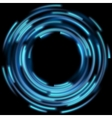 Blue light effects EPS 10 vector image vector image