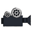 film video camera icon vector image