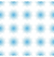 Seamless halftone raster pattern vector image vector image