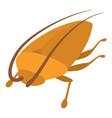 cockroach icon cartoon style vector image vector image