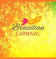 happy brazilian carnival day new abstract vector image