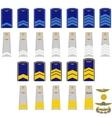 Insignia in RF civil aviation vector image vector image