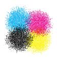 smyc blot dots vector image vector image