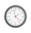 Clock flat icon vector image