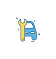 auto repair icon design vector image