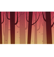 Cartoon Forest vector image vector image