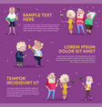 design of people using gadgets in poster vector image vector image