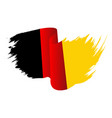 germany flag symbol icon design german flag color vector image