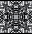 ornament in gray tones vector image