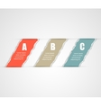 torn paper banners design template vector image