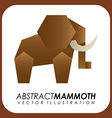abstract animal design vector image vector image