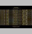 arabesque element pattern boarder collection