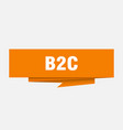 b2c vector image vector image
